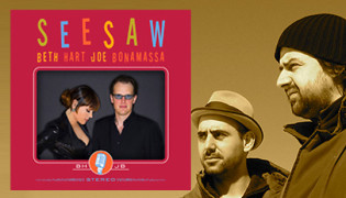 """Close To My Fire"" at the Grammys<br><h10> Beth Hart/Joe Bonamossa's ""Seesaw"" nominated</10>"
