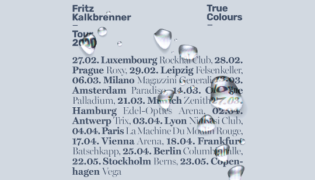 "Fritz Kalkbrenner / Tourdaten 2020<br><h10>""True Colours"" Tour 2020</h10>"
